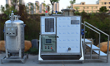 Hy250Ex-PLC Solvent Recovery Equipment+V500